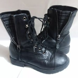 Marcorepublic girls military style boots